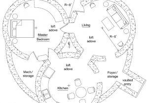 Underground Dome Home Plans Earthbag Home Plan Earthbag House Plans