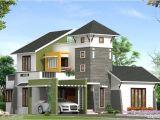 Unique Home Plans One Floor Unique 2220 Sq Feet Villa Elevation Kerala Home Design