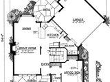 Unique Home Plans One Floor Unique Floor Plan Hides Garage 43040pf Architectural