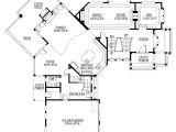 Unique Home Plans One Floor Unique Floor Plan with Central Turret 23183jd