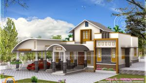 Unique Home Plans One Floor Unique One Floor Home Kerala Home Design and Floor Plans