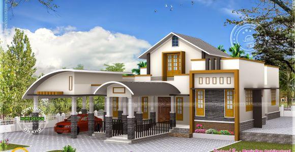 Unique Home Plans One Floor Unique One Floor Home Kerala Home Design and Floor Plans