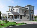 Unusual Home Plans Modern Unique Style Villa Design Kerala Home Design and