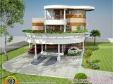 Unusual Home Plans Unique House Plan In Kerala Kerala Home Design and Floor