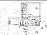 Usonian Home Plans Frank Lloyd Wright Plans Usonian House Building Plans
