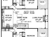 Vacation Home Floor Plans Lake Valley Vacation Home Plan 085d 0016 House Plans and