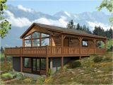 Vacation Home Plan Cabin House Plans Vacation Cabin House Plan with Wrap
