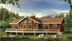 Vacation Home Plans Waterfront Lakefront Vacation Home Plans Home Deco Plans