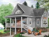 Vacation House Plans with Walkout Basement Brown Hill Lake Home Plan 032d 0817 House Plans and More