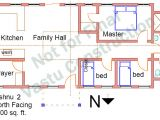 Vastu Home Plans for north Facing north Facing Vastu Home Plans Homes Floor Plans