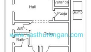 Vastu Home Plans for north Facing Vastu Plan for north Facing Plot 2 Vasthurengan Com
