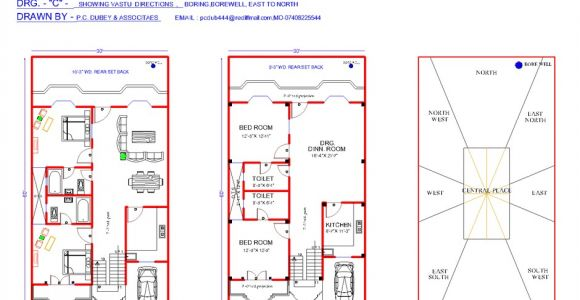 Vastu Shastra Home Plan Hindi south Facing House Plans According to Vastu Shastra In