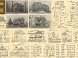Victorian Era House Plans Floor Plans Cd Victorian Era Plan Home Houses 1889 Ebay