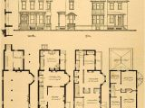 Victorian Homes Plans Vintage Victorian House Plans 1879 Print Victorian House