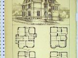 Victorian Homes Plans Vintage Victorian House Plans Classic Victorian Home