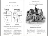 Victorian House Plans with Photos Authentic Queen Anne Victorian House Plans