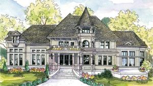 Victorian Mansion Home Plans Victorian House Plans Canterbury 30 516 associated Designs