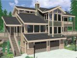View Lot Home Plans Daylight Basement House Plans Floor Plans for Sloping Lots