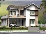 Villa Home Plans 1965 Square Feet Small Villa In 5 Cent Plot Kerala Home