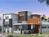 Villa Home Plans 2400 Sq Feet Modern Contemporary Villa Kerala Home