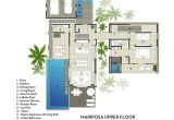 Villa Home Plans Contemporary Mariposa Villa with Stunning Ocean Views