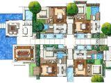 Villa Home Plans Villas Floor Plans Resorts Joy Studio Design Home Plans