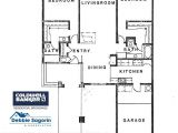 Village Home Plan Casa Rosa and Villa Francesca Floor Plan Laguna Woods