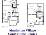 Village Home Plan Manhattan Village Court Home Plan 1 Floorplan