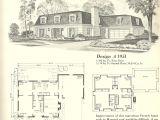 Vintage Home Floor Plans Vintage House Plans French Mansards 6 Antique Alter Ego