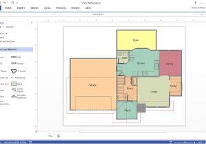 Visio Home Plan Template Download Create A Visio Floor Plan Conceptdraw Helpdesk