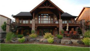 Walk Out Basement Home Plans Luxury Hillside House Plans with Walkout Basement New