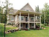 Walkout Basement Home Plans Bungalow Walkout Basement House Plans at Front 9889