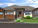 Walkout Home Plans Spacious Hillside Home with Walkout Basement 67702mg