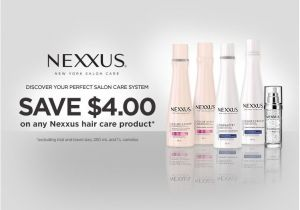 Walmart Product Care Plan Home Walmart Canada Coupons Save 4 On Nexxus Hair Care