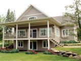 Water Front Home Plans Waterfront House Plans with Walkout Basement Modern