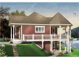 Water Front House Plans Waterfront House Plans with Walkout Basement Mediterranean