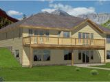Waterfront Home Plans Sloping Lots 13 top Photos Ideas for Lake House Plans Sloping Lot