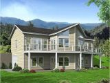Waterfront Home Plans Sloping Lots Lakefront House Plans Sloping Lot