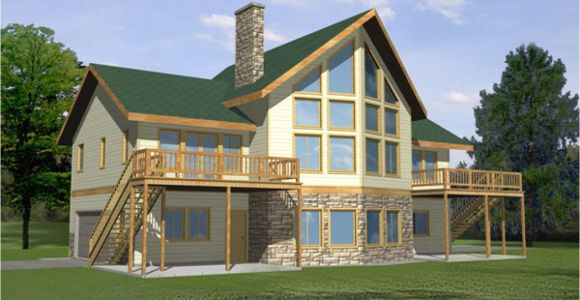 Waterfront Home Plans Waterfront House with Narrow Lot Floor Plan Waterfront