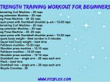 Weight Lifting Plan for Beginners at Home Strength Workouts for Beginners Crossfit Wod