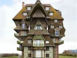 Weird House Plans Surreal and Weird Houses Designs Using Photo Montage