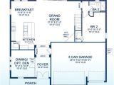 West Bay Homes Floor Plans the Verona Main Floor Plan by Homes by West Bay at