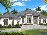 West Home Plans St Lucia House Plan Weber Design Group Naples Fl