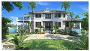 West Indies Home Plans West Indies House Plan Mandevilla House Plan Weber