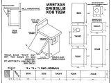 Western Bluebird House Plans Simple Bluebird House Plans Best Home Ideas