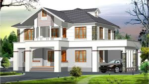 Western Home Plans 2400 Sq Feet Western Style Home In Kerala Kerala Home