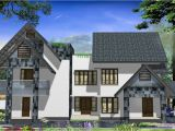 Western Home Plans Western Style Home Design In Kerala Kerala Home Design