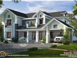 Western Home Plans Western Style House Rendering Kerala Home Design and