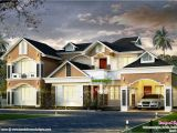 Western Style Home Plans Modern Western Style House Kerala Home Design and Floor