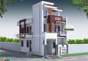 Who Designs House Plans 20×40 Contemporary Indian Home Design Kerala Home Design